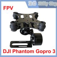 Parts accessories DJI Phantom Gopro 3 Metal Brushless Camera Gimbal Mount RTF camera mounts FPV Drop shipping