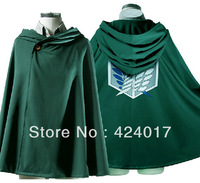 Promotion! Attack on Titan Shingeki no Kyojin Scouting Legion Top Cosplay Grade Cloak Cape