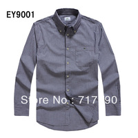 Super men's business shirt TOP famous brand name long sleeve men's dress shirts Excellent quality male fashion shirt