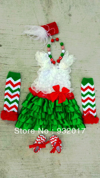 Christmas clothing set for girls 2013  fashion children new style dress for girls kids autumn/winter clothes