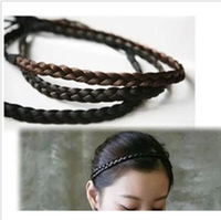 fashion accessories wig hair bands elastic twisted knitted headband female hair accessory (min order is $10 mix order)