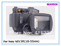 Free shipping 2013  Latest 40M Diving Housing Waterproof case Underwater Camera bag For Sony NEX 5R NEX 6 NEX 7