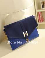 Free shipping vintage bag envelope bag women's handbag one shoulder day clutch bag good quality bag