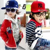 10PCS Spring and autumn child hat male baby flat brim baseball cap parent-child cap hiphop hip-hop cap