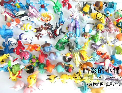 Pokemon ingrosso Pokeman 90 pc/un sacco pokemon action figure 2-4cm ingrosso imballaggio: sacchetto del opp spedizione gratuita in tutto il mondo