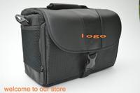 Free Shipping DLSR SLR Camera Bag for Nikon D3100 D3200 D5100 D7000 D90 shoulder bag + Rain Cover  BLACK COLOR