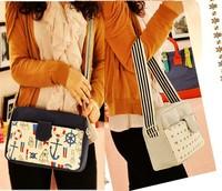 Free shipping 2013 new casual fashion canvas handbag shoulder bag Messenger packet