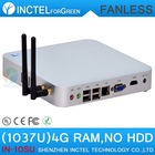 2013 new arrival Fanless mini computer PC with 4G RAM no HDD SSD 29MM extreme ultra-thin full alluminum HD Graphics NM70 chipset(China (Mainland))