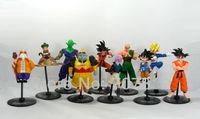 10x Dragon Ball Z GT Action Figure Japanese Anime Figures Toys 10CM PVC 10PCS/SET Free Shipping