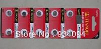 NEW 10 X AG4 LR626 377 1.55V    alkaline battery  Free Shipping