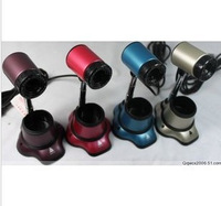 Professional webcam pixels large color gun retractable webcam computer accessories