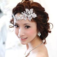 Free shipping!Wedding forehead accessory/ bride hair accessory wedding hairpin hair ornament headwear/Box pack ,QXL055