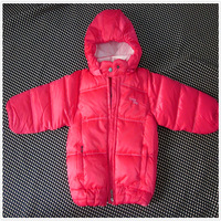 Free Shipping 2013 New Winter Warm Coat Boys and Girls Can Be Disassembled Solid Cap (110-140)