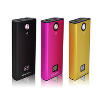 5200mAh Mobile Power Bank With Dual Led Torch