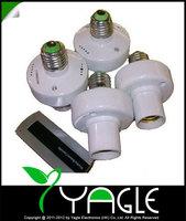 2014 new Intelligent 1 Control 4 Bases 20M Wireless Remote Control E27 Light Lamp Bulb Base Holder Socket
