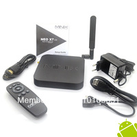 Freeshipping MINIX NEO X7 Quad core RK3188 2G 16G TV BOX set top box mini pc Android 4.2 rk3188 WHOLESALE