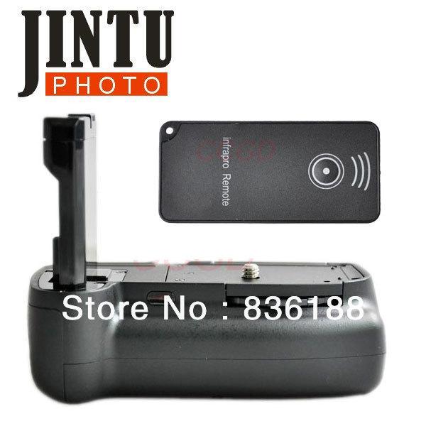 Battery Grip D3100 D5100 +2x EN-EL14 battery + IR Remote for Nikon SLR 045(China (Mainland))