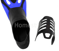 Hot Sale New Short Design Snorkeling Flipper Submersible Fins Swimming Supplies Snorkel Blue TK1020