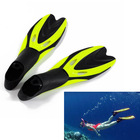 High Quality 2Pairs/Lot New Short Design Swimming Fins Snorkeling Flipper Submersible Fins Supplies Snorkel TK1019(China (Mainland))