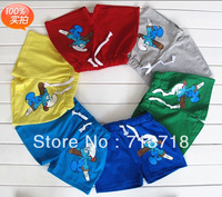 Free shipping  girl's boys children's kids Clothing baby summer clothes pants shorts  4pcs/lot