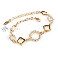 2013 New Arrival Exquisite Bracelet for Women (1Pcs/lot)Gold Plated Chain Link Bracelet