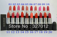 20 pcs/lot New Color lustre lipstick rouge a levres 3g makeup lipstick! Will English name!!
