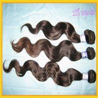 "wholesale 6A Brazilian body wave hair,10pcs/lot,bundles of virgin hair,3.3-3.5oz/piece,12""-28"",fast shipping"