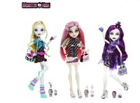 original Monster High doll/Ghoul's night out,Spectra vondergeist,Lagoona Blue,Rochelle Goyle/Genuine toy Free shipping
