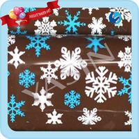 FREE SHIPPING Christmas Chocolate Transfer Sheets Cake Decorating Chocolate Transfer Paper-snow