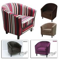 Special factory direct leather sofa sofa chair around single sofa armchair Armchair hotel