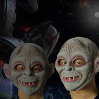 free shipping 1pcs/lot Gollum face mask - Halloween Terror latex mask party mask festival mask performances