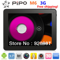 PIPO Max M6 Android 4.2 RK3188 Quad-core 9.7-inch 2GB/16GB IPS Retina Screen Bluetooth Dual-camera HDMI Built-in 3G Tablet PC