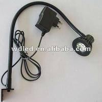 3W 110V/220V Flexible arm 3W led gooseneck work light/LED flexibel pipe snake light gooseneck light