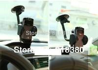 Wholesale 360 degree rotating Universal car phone holder for  MP3 GPS mobile phone holder stand car bracket gps garmin holder