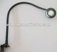 3W 12V/24V flexible hose led machine light & led light machine & machine led work light