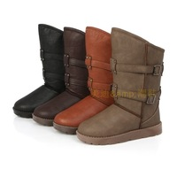 New arrival 2014 snow boots winter boots medium-leg boots slip-resistant comfortable fashion thermal boots women's shoes