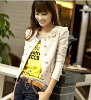 2013 autumn women's spring and autumn outerwear short design ol small suit jacket female coat