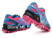 Free shipping!high quality newest arrival salomon women/Men Running shoes sport shoes sneakers hiking shoes with retail packing