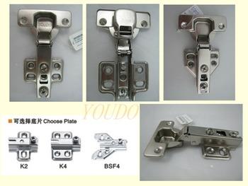 two way slide on auto concealed cabinet door hinge type