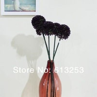 Artificial Flower / Decorative Simulation Flowers. Deep Purple Flowers. Free Shipping. Wholesale   ID:A0105728