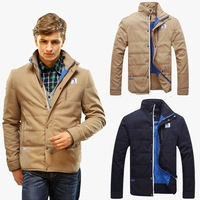 2014 New Big Sale Men Winter Coat Jacket Causal Coat Winter Outwear Outdoor Jacket High Quality Free Shipping  MWM117