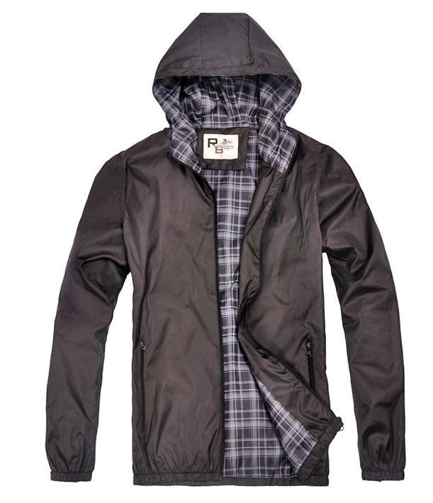 2014 New Big Sale Men Outdoor Jakcet Men Hoodie Jacket Waterproof Jacket High Quality Free Shipping MWJ093(China (Mainland))