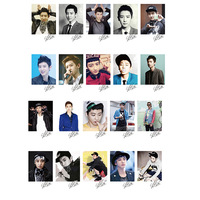 KPOP CHANYEOL EXO XOXO WOLF GROWL LOMO Card 20 Photos LM097