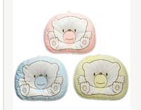 Boy Girl Newborn Baby Anti-roll Pillow Flat Head Sleeping Positioner Bear new