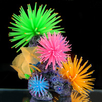 Fish tank aquarium decoration artificial coral 37044  Size: 22 cm long, 22 cm tall