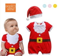 free shipping Children's clothing boy girl child christmas stylecinfant long sleeve romper  bodysuit