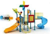 KFC kids outdoor  amusement playground with slide climbing