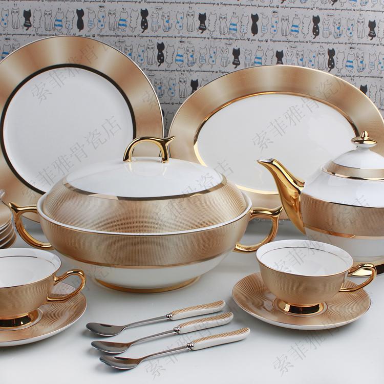 Promoci n de cubiertos de lujo compra cubiertos de lujo - Arts de la table luxe ...