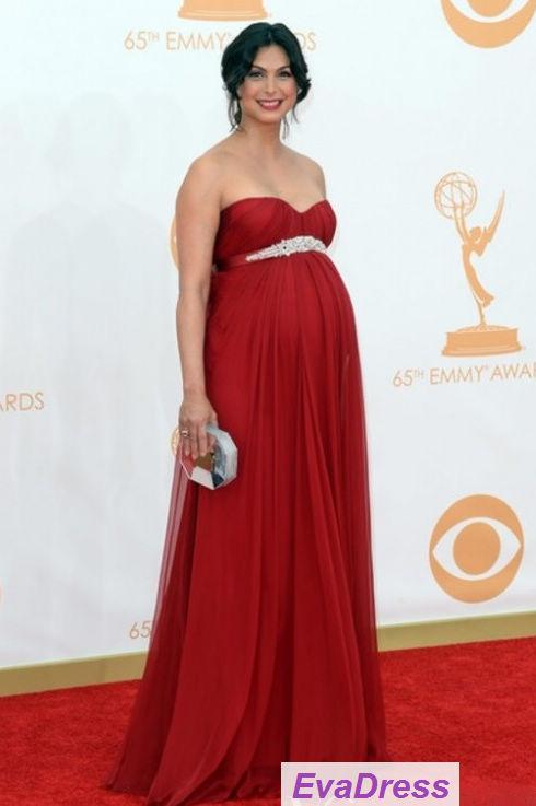 Red Carpet Pregnancy Dresses - Holiday Dresses