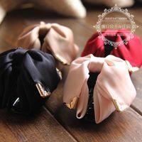 Princess sweet lolita Hairpin gripper Medium bow hair accessory bow gripper romantic